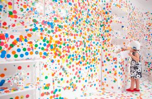 'Yayoi Kusama: Look Now, See Forever' Exhibition View
